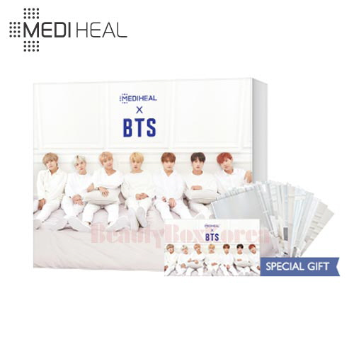 MEDIHEAL Moisture Barrier Care Special Set 3items [BTS Edition],MEDIHEAL